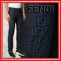 FENDI Cotton Jeans