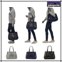 Patagonia Casual Style Unisex A4 Totes