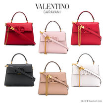 VALENTINO  VSLING Monogram Casual Style Blended Fabrics 3WAY Chain Plain