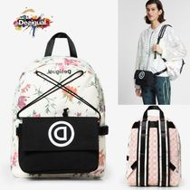 Desigual Flower Patterns Casual Style 3WAY Hip Packs