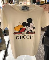 GUCCI Unisex Collaboration Other Animal Patterns Cotton