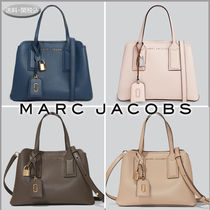 MARC JACOBS Casual Style 2WAY Plain Leather Office Style Elegant Style