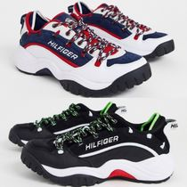 Tommy Hilfiger Blended Fabrics Street Style Sneakers