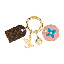 Louis Vuitton MONOGRAM Fetish Lug Tag Key Holder