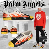 Palm Angels Leather Sneakers
