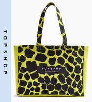TOPSHOP Casual Style Other Animal Patterns Totes