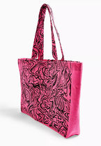 TOPSHOP Casual Style Other Animal Patterns Logo Totes