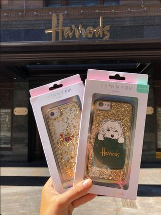 Unisex Collaboration Silicon Glitter iPhone 8 iPhone X