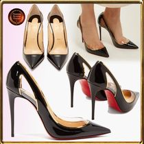 Christian Louboutin Casual Style Leather Party Style PVC Clothing Office Style