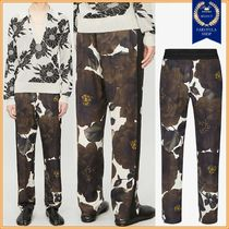 Dries Van Noten Flower Patterns Pants