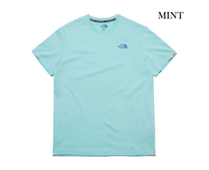 THE NORTH FACE More T-Shirts Unisex U-Neck Cotton Short Sleeves Logo T-Shirts 11