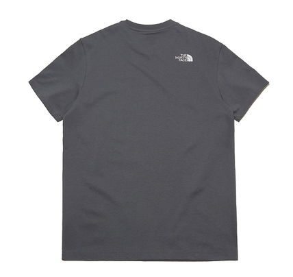 THE NORTH FACE More T-Shirts Unisex U-Neck Cotton Short Sleeves Logo T-Shirts 15