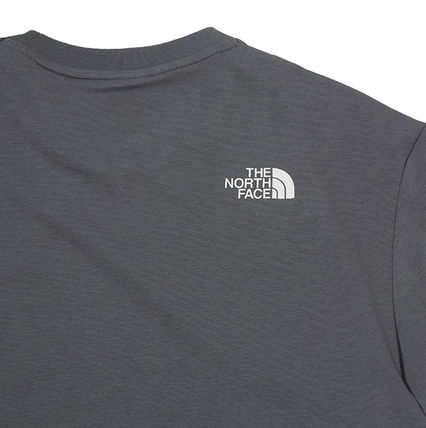 THE NORTH FACE More T-Shirts Unisex U-Neck Cotton Short Sleeves Logo T-Shirts 16