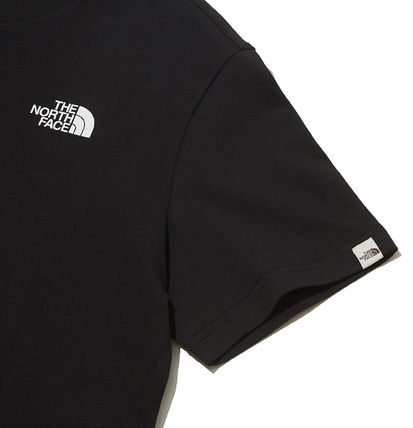 THE NORTH FACE More T-Shirts Unisex U-Neck Cotton Short Sleeves Logo T-Shirts 19