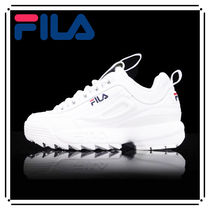 FILA Disruptor 2 Casual Style Unisex Street Style Plain Low-Top Sneakers