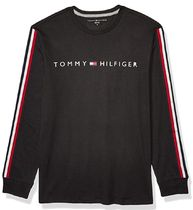 Tommy Hilfiger Crew Neck Pullovers Unisex Street Style Long Sleeves Plain