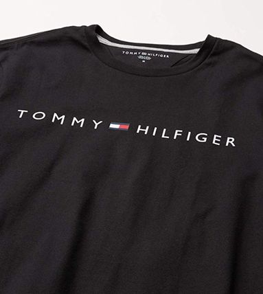 Tommy Hilfiger Long Sleeve Crew Neck Pullovers Unisex Street Style Long Sleeves Plain 3