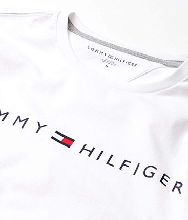 Tommy Hilfiger Long Sleeve Crew Neck Pullovers Unisex Street Style Long Sleeves Plain 5