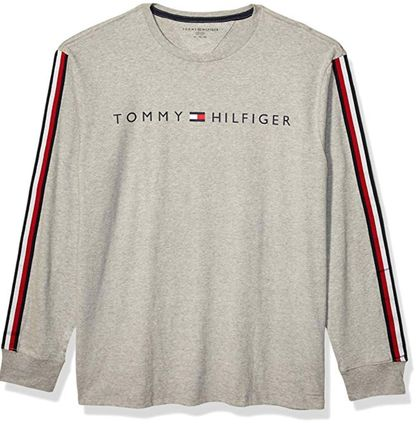 Tommy Hilfiger Long Sleeve Crew Neck Pullovers Unisex Street Style Long Sleeves Plain 6