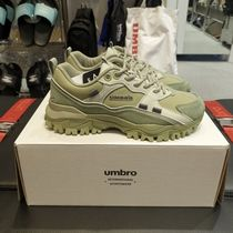 UMBRO Casual Style Unisex Street Style Logo Low-Top Sneakers
