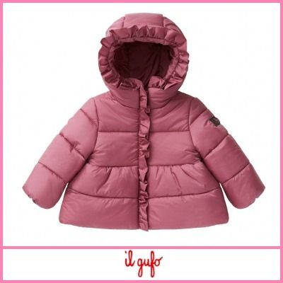Street Style Baby Girl Outerwear
