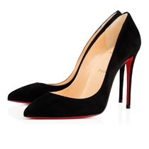 Christian Louboutin Pigalle Follies Suede High Heel Pumps & Mules