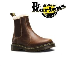 Dr Martens LEONORE Unisex Street Style Plain Loafer & Moccasin Shoes