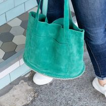 Chuchka Casual Style Suede Totes