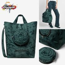 Desigual Flower Patterns Casual Style 2WAY Other Animal Patterns