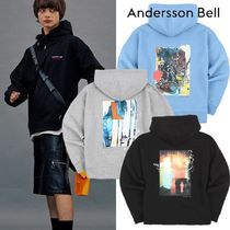 ANDERSSON BELL Street Style Long Sleeves Cotton Sweatshirts