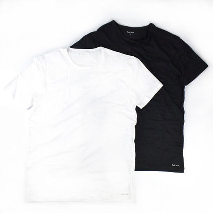 Paul Smith More T-Shirts Crew Neck Street Style Short Sleeves Logo T-Shirts