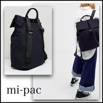 mi-pac Casual Style Street Style Plain Backpacks