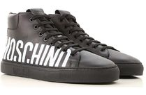 Moschino Leather Sneakers