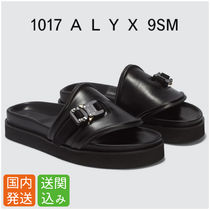ALYX Open Toe Casual Style Street Style Plain Leather Sandals