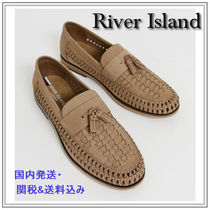 River Island Loafers Suede Tassel Plain U Tips Loafers & Slip-ons