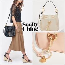 See by Chloe 2WAY Leather Office Style Shoulder Bags