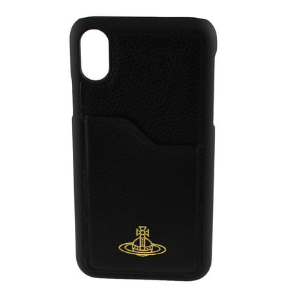 Unisex Leather iPhone X iPhone XS Smart Phone Cases