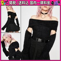 DOLLS KILL Casual Style Off the Shoulder