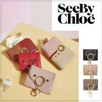 See by Chloe Leather Office Style Elegant Style Shoulder Bags