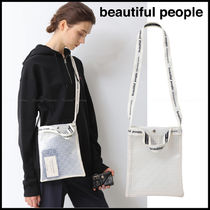 Casual Style Unisex Street Style 2WAY Crystal Clear Bags