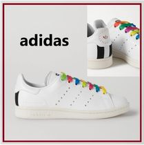 adidas by Stella McCartney Rubber Sole Casual Style Low-Top Sneakers