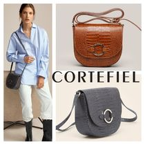 CORTEFIEL Leather Elegant Style Bags
