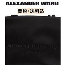 Alexander Wang Casual Style Plain Office Style Logo Totes