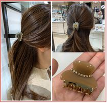 With Jewels Office Style Elegant Style Hair Accessories