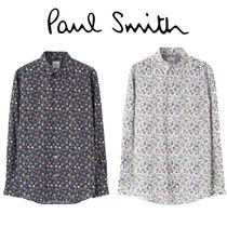 Paul Smith Flower Patterns Casual Style Unisex Street Style