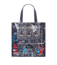 Harrods Casual Style PVC Clothing Office Style Elegant Style Totes