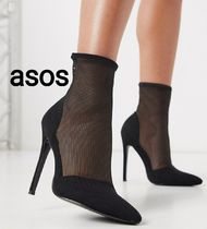 ASOS Casual Style Plain Pin Heels Party Style Elegant Style