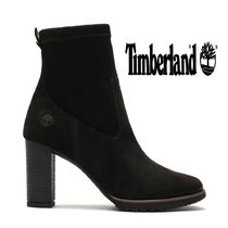Timberland Lace-up Street Style Plain Leather Lace-up Boots