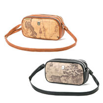 PRIMA CLASSE Casual Style PVC Clothing Shoulder Bags