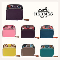 HERMES Silk In Coin Cases